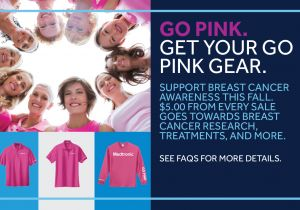 MEDTRONIC GO PINK
