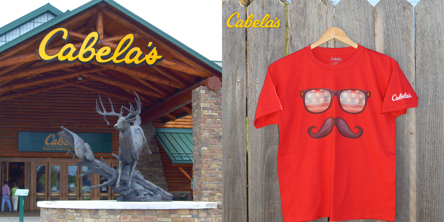 On Trend Designs – Cabela's T-shirts