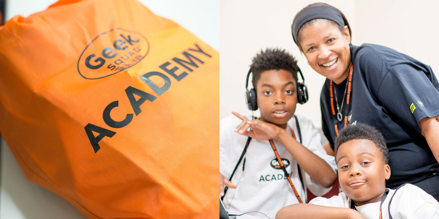 Community Outreach – Geek Squad Academy Program