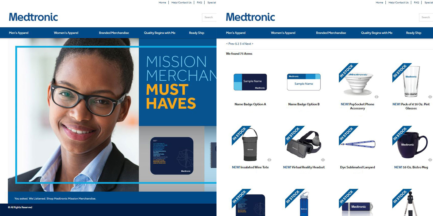 "The ""Brandazon"" Experience – Medtronic Online Company Store"